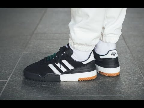 9ffeec4b5338 Unbox Tênis Adidas Originals BBALL Soccer by Alexander Wang - YouTube