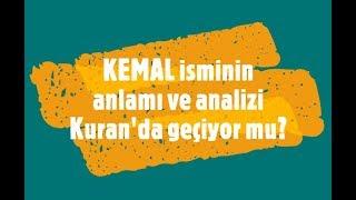 Kemal İsminin Anlamı ve Analizi Nedir?