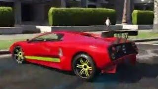 GTA 5 LAMBORGHINI VS COP CARS