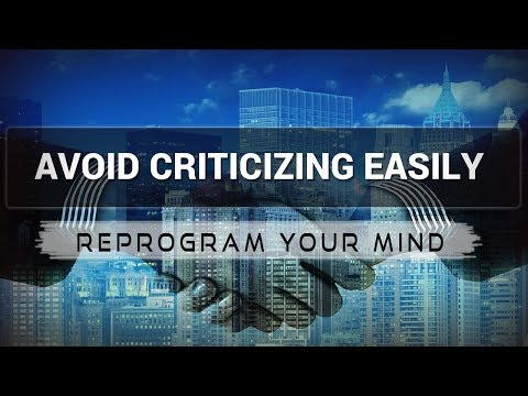 Dealing with Criticism affirmations mp3 music audio - Law of attraction - Hypnosis - Subliminal