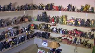 My Entire Godzilla Collection as of 3/19/13