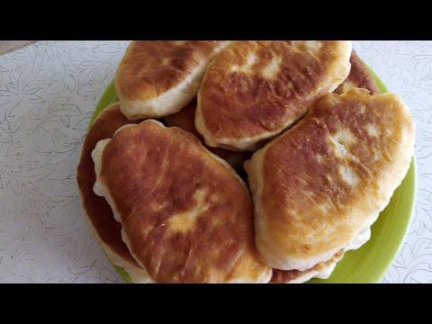 ПИРОЖКИ С СОЛЁНЫМИ ГРИБАМИ / CAKES WITH PICKLED MUSHROOMS