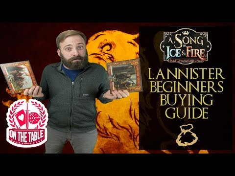 Buying your first House Lannister unit expansion in A Song of Ice and Fire the Miniatures Game