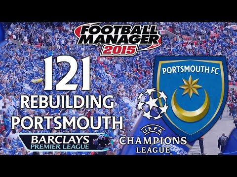 Rebuilding Portsmouth - Ep.121 The Battle Heats Up (Man U) | Football Manager 2015
