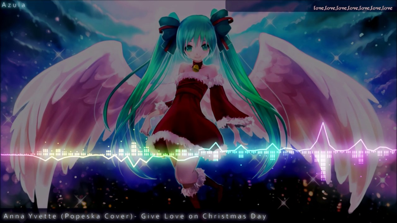 Nightcore ~ Give Love On Christmas Day (Anna Yvette) Lyrics - YouTube