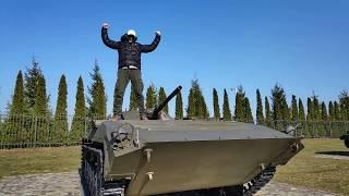 Калининград Ч. 3. Гурьевский военно-мемориальный комплекс Музей боевой техники