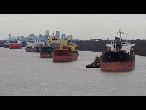 AIDAvita: Sailing On Mississippi River | New Orleans Louisiana | 28.01.2017 | 4K