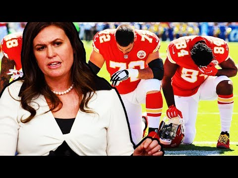 Sarah Huckabee On Why Trump Is Wasting Time Fighting NFL Players On Twitter