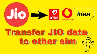 Transfer Jio Data To Other Sim | Any Network 1000%  Working