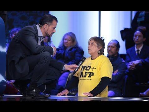 Mujer contra AFP tuvo tenso debate con gerente de asociación AFP - MODO TERMÓMETRO