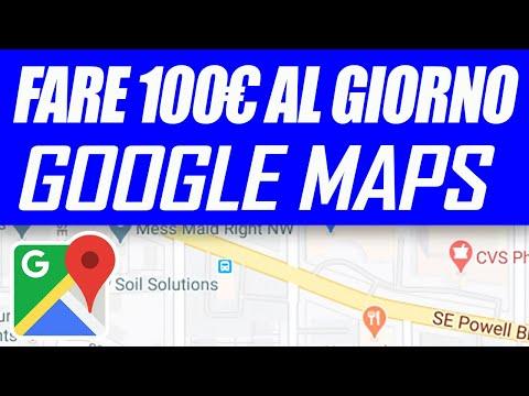 Come Guadagnare 100€ con Google Maps (Guadagnare Soldi Online)