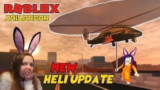NEW ROBLOX JAILBREAK UPDATE !! - New helicopter and much more ! - COME JOIN THE FUN !!! - #124