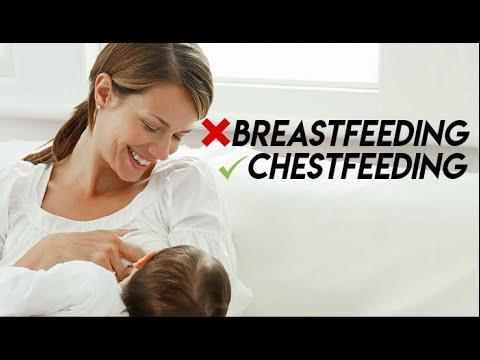Breastfeeding has a new 'woke' name
