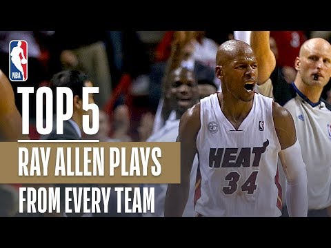 Ray Allen's Top 5 Plays From Each Team In His Career