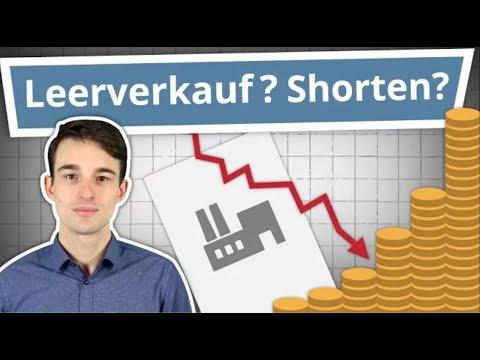 Leerverkäufe, Short Selling & Wertpapierleihe einfach erklärt! (mit anschaulichen Beispielen)