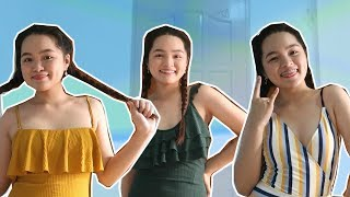 TRYING ON SWIMSUITS FOR THE FIRST TIME! ft. Cupshe | Monica Garcia ♡