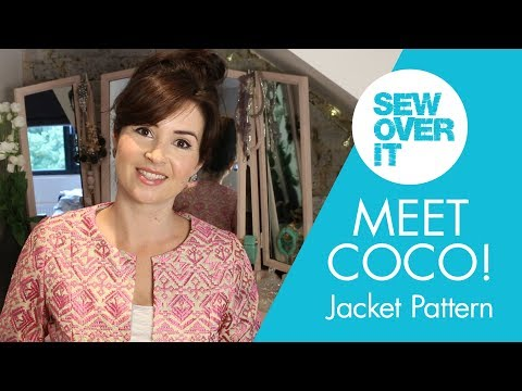 New Pattern Alert! The Coco Jacket