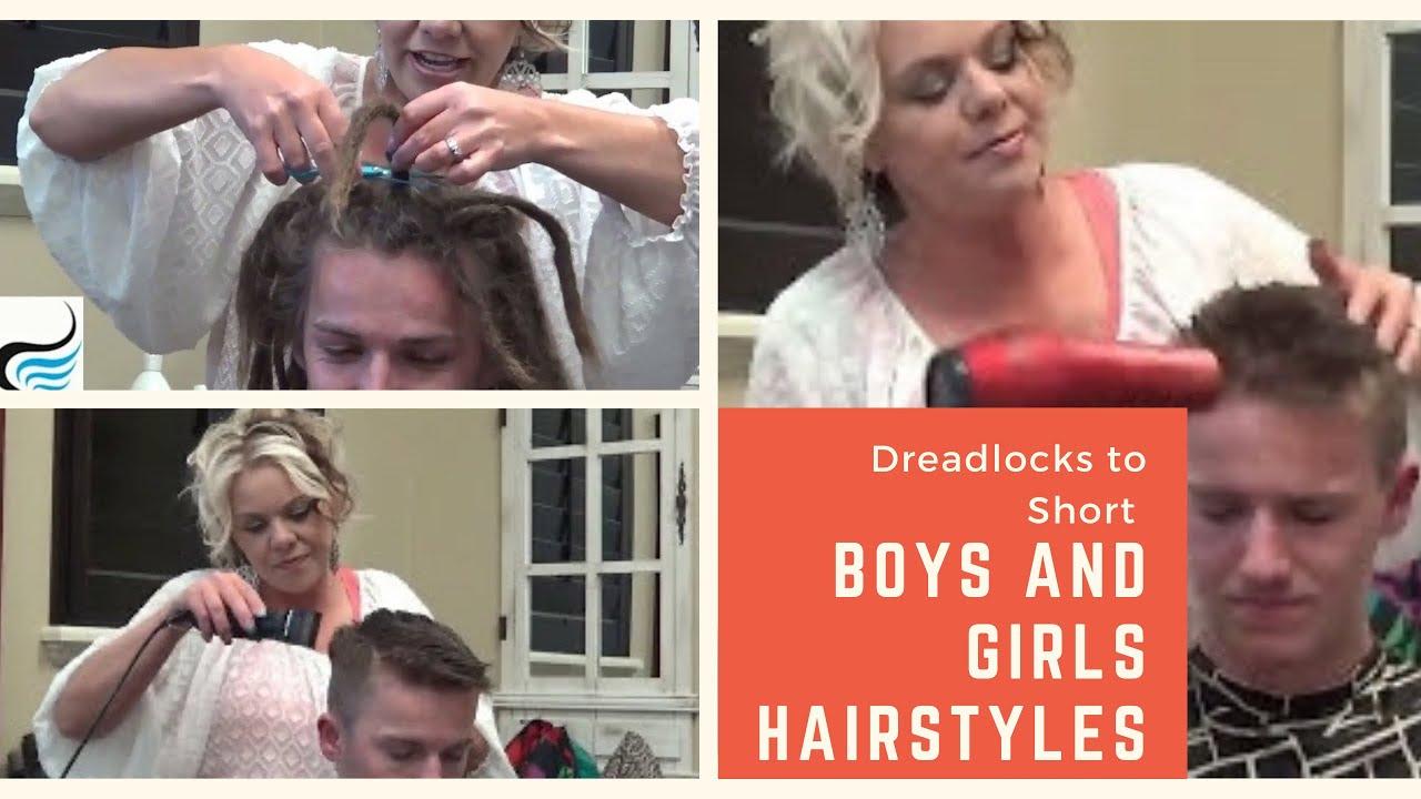 Hair Style For Guys: (How To Cut Dreadlocks) Short