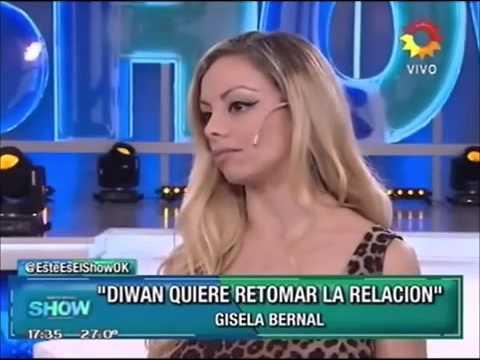 Gisela Bernal reveló que Diwan tiene un problema que ella pensó que había superado