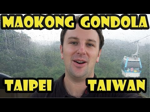 Riding the MaoKong Gondola