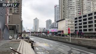 Coronavirus turns Wuhan into a ghost town after lockdown