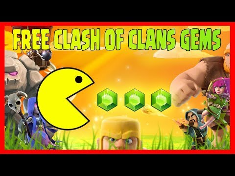 FREE CLASH OF CLANS GEMS - COC HACK