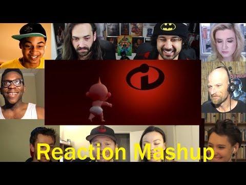The Incredibles 2 Trailer REACTION MASHUP