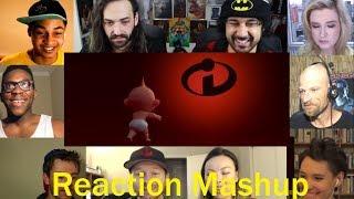 The Incredibles 2  Teaser Trailer REACTION MASHUP