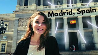 Madrid Vlog: trying olives, and tour of the city 🇪🇸