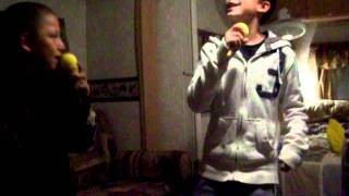 TJ and Kyle singing- I'v been watching you by Rodney Atkins