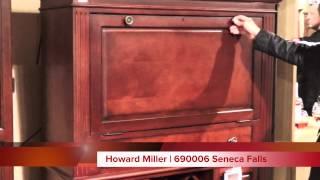 Howard Miller Wine and Bar Cabinet 690006 Seneca Falls