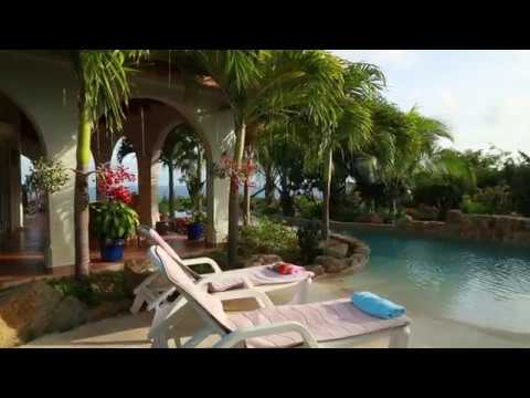 VILLA ROSA...4 BR  in Red Pond Estates on St. Maarten