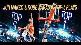 Kobe Paras at Jun Manzo nasa TOP-5 PLAYS ng 2019 BLIA CUP saTAIWAN!