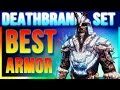 Skyrim Special Edition Best Armor - DEATHBRAND Locations (Unique Secret Light Armor Walkthrough)