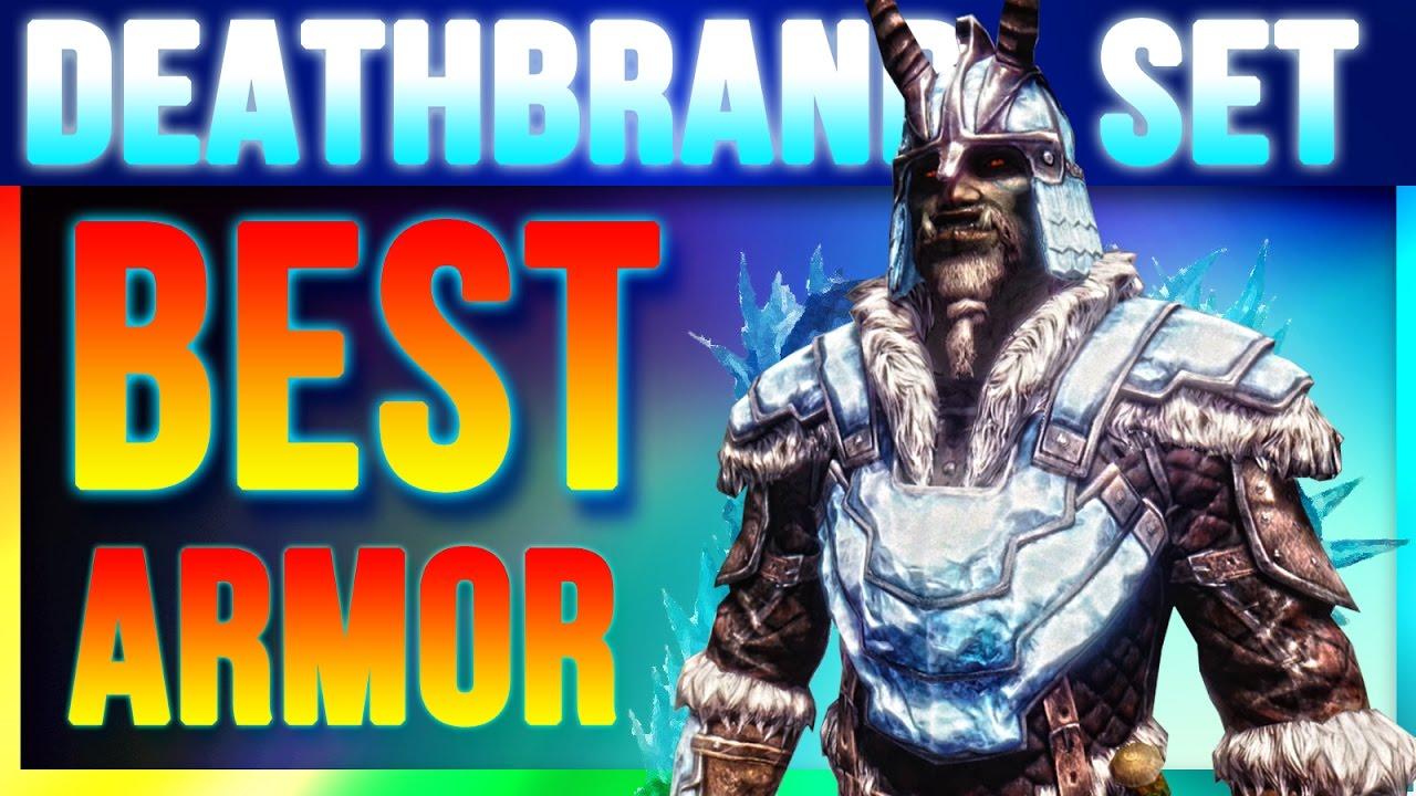 Skyrim Special Edition Best Armor - DEATHBRAND Locations (Unique Secret  Light Armor Walkthrough)