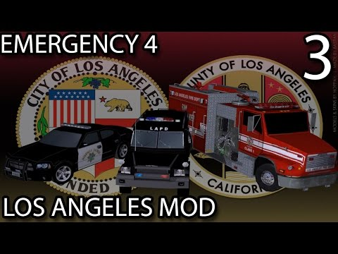 Emergency 4 Los Angeles Mod #3 - Crashing into the Water!