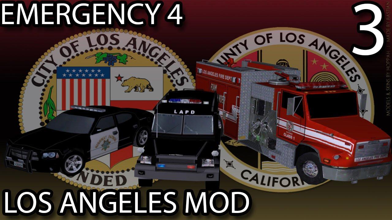 Emergency 4 los angeles mod 2 5 скачать
