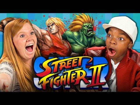 SUPER STREET FIGHTER II (Teens React: Retro Gaming)