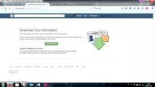 Comment faire pour récupérer les messages et les photos supprimées Facebook et toutes vos données
