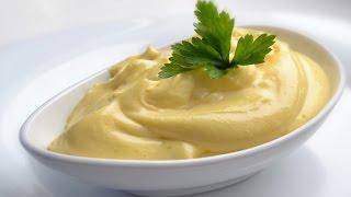 Как приготовить майонез на оливковом масле. | How to prepare mayonnaise with olive oil.