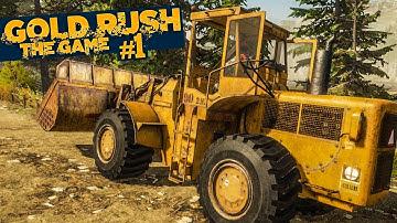 GOLD RUSH: The Game #1: Erstes Gold schürfen in Alaska! | GOLDGRÄBER SIMULATOR