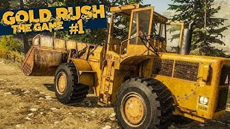 GOLD RUSH: The Game #1: Erstes Gold schürfen in Alaska! | GOLDGRÄBER SIMULATOR