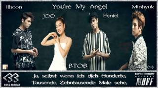 BTOB (Minhyuk, Peniel, Ilhoon) ft. JOO -You're My Angel k-pop [german sub] 5th Mini Album – Move.