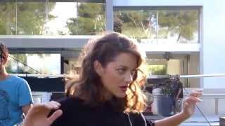 lady dior snapshot in la behind the scenes