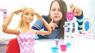 Видео для девочек - У Барби появились веснушки
