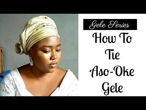 download how to tie gele aso oke