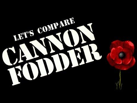 Let's Compare ( Cannon Fodder )