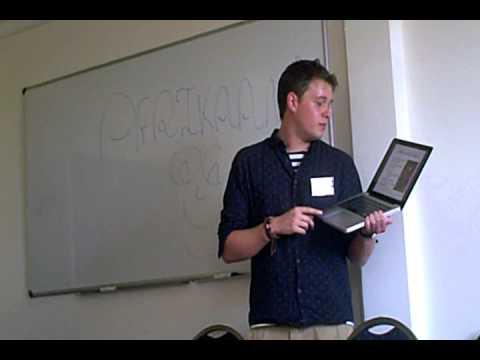 Alex Rawlings talks on Afrikaans
