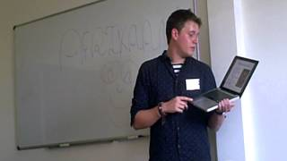 Alex Rawlings talks on Afrikaans