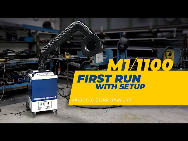 FIRST RUN WITH SETUP - Welding Fume Extraction Unit, Mobile - M1/1100